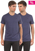 G-STAR Base Heather R T Double Pack S/S T-Shirt shade