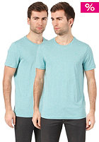 G-STAR Base Htr R T S/S  T-Shirt 2 Pack dusty turqoise