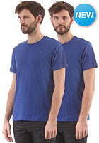G-STAR Base Htr R T S/S T-Shirt 2-Pack hudson blue htr