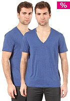 G-STAR Base Htr R T S/S  T-Shirt 2 Pack true blue
