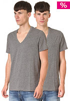 G-STAR Base Htr V 2-Pack S/S T-Shirt castor htr