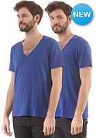 G-STAR Base Htr V T S/S T-Shirt 2-Pack hudson blue htr