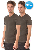 G-STAR Base R T 2-Pack S/S T-Shirt premium 1 by 1 - asfalt