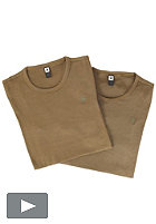 G-STAR Base R T S/S T-Shirt Double Pack wild olive