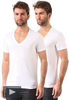 G-STAR Base V Double Pack solid white