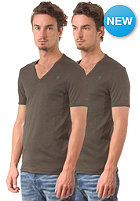 G-STAR Base V T 2-Pack S/S T-Shirt premium 1 by 1 - asfalt