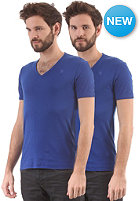 G-STAR Base V T S/S T-Shirt 2-Pack hudson blue