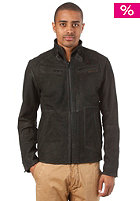 G-STAR Brando Leather Jacket Saddle Leather black