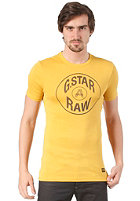 G-STAR Button S/S T-Shirt field yellow