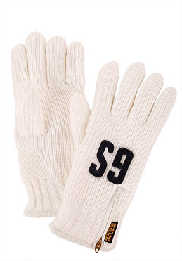 G-STAR Cadet Glove milk