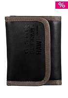 G-STAR Daniel Originals Wallet black pleather