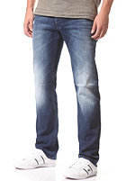 G-STAR Defend Straight Pant comfort langly denim - medium aged