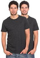 G-STAR Double Pack R Premium 1 by 1 S/S T-Shirt grey heather
