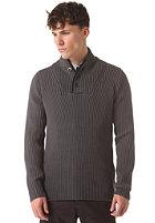 G-STAR Fibrick Shawl Collar Knit Sweat premium cotton knit - night