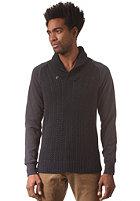 G-STAR Geored Shawl Collar Knit Sweat premium cotton knit - mazarine blue
