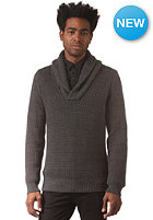G-STAR Gralvent Shawl Collar Knit Sweat tone cotton knit - raven