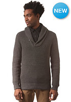 G-STAR Gralvent Shawl Collar Knit Sweat tone cotton knit - raw grey