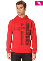 G-STAR Guzy Hooded Sweat oil red