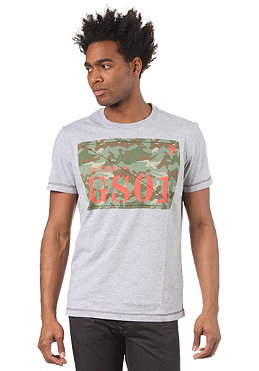 G-STAR Halo Logo R T S/S T-Shirt grey heather