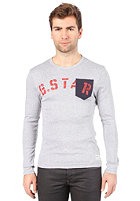 G-STAR Hatchback L/S T-Shirt grey htr