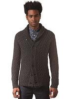 G-STAR Higging Knit L/S Cardigan oxford cable knit - black htr