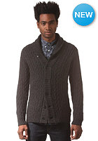 G-STAR Higging Knit L/S Cardigan oxford cable knit - black htr