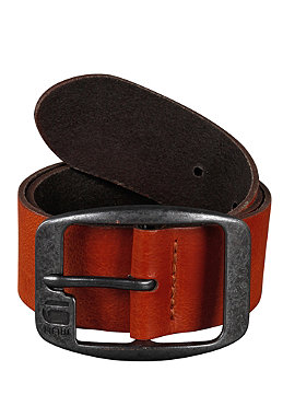 G-STAR Ladd Leather Belt cognac