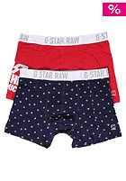 G-STAR Lubben Sport Double Pack Short bri blu/har red