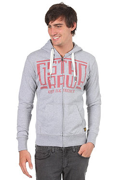 G-STAR Madison Hooded Zip Sweat grey heather