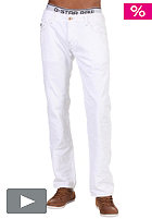 G-STAR Morris Low Straight Pant tricker white denim splend destroy
