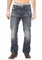 G-STAR Navy Attacc Straight Lezid Denim Pant medium aged