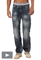 G-STAR New Radar Low Loose Pant forest denim medium aged t.p