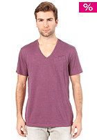 G-STAR NY Regular S/S T-Shirt black currant