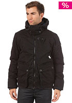 G-STAR Ontario Hooded Bomber Jacket Combat Satin Od black