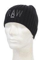 G-STAR Originals Beanie cotton knit - black