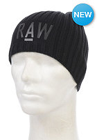 G-STAR Originals Beanie cotton knit - black