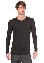 G-STAR Single Pack Premium 1 by 1 Round Neck L/S T-Shirt black