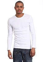 G-STAR Single Pack Premium 1 by 1 Round Neck L/S T-Shirt white