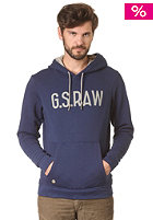 G-STAR Snell Hooded Sweat imperial blue