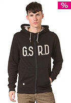 Snell Vest Hooded Zip Sweat black