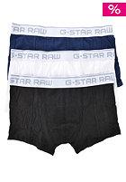 G-STAR Sport 3 Pack Boxershort lt stretch jersey - wh/blck/sapp bl
