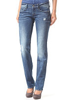 G-STAR Womens 3301 Straight comf eslow denim - med aged destry