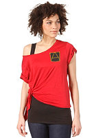 G-STAR Womens A Crotch DBL SW S/S T-Shirt harvard red