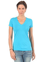 G-STAR Womens Base V T Capsleeve T-Shirt vivid blue