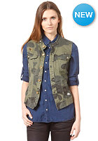 G-STAR Womens Beach Rovic Sleeveless  Vest Jacket rovic green