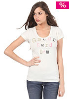 G-STAR Womens Britt R T Capsleeve T-Shirt milk