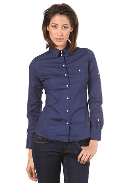 G-STAR Womens CL Basic Fit Slim L/S Shirt ballpen blue