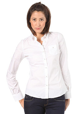 G-STAR Womens CL Basic Fit Slim L/S Shirt white