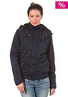G-STAR Womens Combat Whistler Hooded Bomber Jacket combat satin od brittany blue
