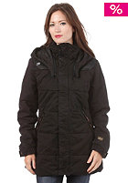 G-STAR Womens Combat Whistler Hooded Jacket combat satin od black
